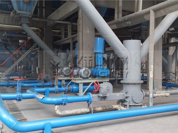 料封泵输送使用现场